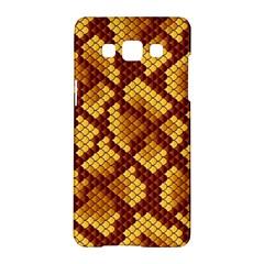 Snake Skin Pattern Vector Samsung Galaxy A5 Hardshell Case