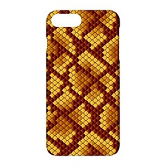 Snake Skin Pattern Vector Apple Iphone 7 Plus Hardshell Case