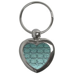Water Drop Key Chains (heart)