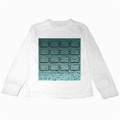 Water Drop Kids Long Sleeve T Shirts