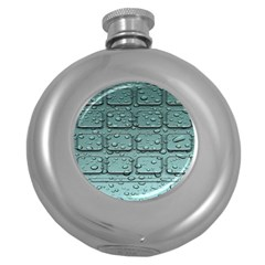 Water Drop Round Hip Flask (5 Oz)