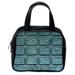 Water Drop Classic Handbags (One Side)