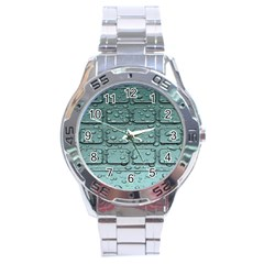 Water Drop Stainless Steel Analogue Watch by BangZart