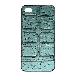 Water Drop Apple Iphone 4/4s Seamless Case (black)