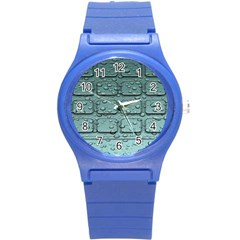 Water Drop Round Plastic Sport Watch (s) by BangZart
