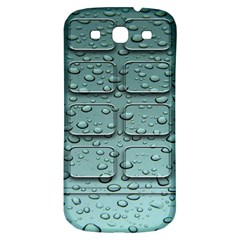 Water Drop Samsung Galaxy S3 S Iii Classic Hardshell Back Case by BangZart