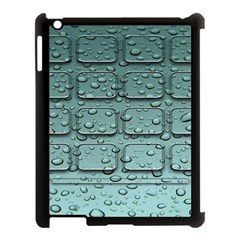 Water Drop Apple Ipad 3/4 Case (black)