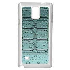 Water Drop Samsung Galaxy Note 4 Case (white)
