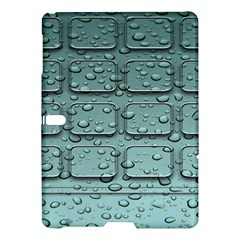 Water Drop Samsung Galaxy Tab S (10 5 ) Hardshell Case  by BangZart