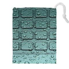 Water Drop Drawstring Pouches (xxl)