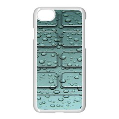Water Drop Apple Iphone 7 Seamless Case (white)