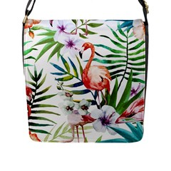 Mingo Flap Messenger Bag (l)  by LimeGreenFlamingo
