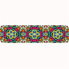 Jewel Tiles Kaleidoscope Large Bar Mats by WolfepawFractals