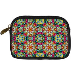 Jewel Tiles Kaleidoscope Digital Camera Cases by WolfepawFractals