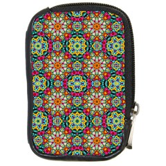 Jewel Tiles Kaleidoscope Compact Camera Cases by WolfepawFractals