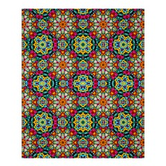 Jewel Tiles Kaleidoscope Shower Curtain 60  X 72  (medium)  by WolfepawFractals