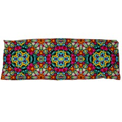 Jewel Tiles Kaleidoscope Body Pillow Case (dakimakura) by WolfepawFractals