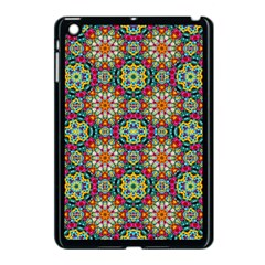 Jewel Tiles Kaleidoscope Apple Ipad Mini Case (black) by WolfepawFractals