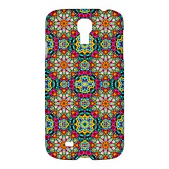 Jewel Tiles Kaleidoscope Samsung Galaxy S4 I9500/i9505 Hardshell Case by WolfepawFractals