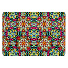 Jewel Tiles Kaleidoscope Samsung Galaxy Tab 8 9  P7300 Flip Case by WolfepawFractals