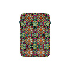 Jewel Tiles Kaleidoscope Apple Ipad Mini Protective Soft Cases by WolfepawFractals