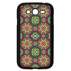 Jewel Tiles Kaleidoscope Samsung Galaxy Grand Duos I9082 Case (black) by WolfepawFractals
