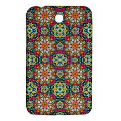 Jewel Tiles Kaleidoscope Samsung Galaxy Tab 3 (7 ) P3200 Hardshell Case  by WolfepawFractals