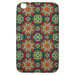 Jewel Tiles Kaleidoscope Samsung Galaxy Tab 3 (8 ) T3100 Hardshell Case  by WolfepawFractals