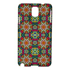 Jewel Tiles Kaleidoscope Samsung Galaxy Note 3 N9005 Hardshell Case by WolfepawFractals