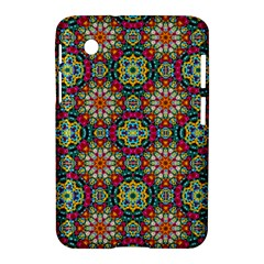 Jewel Tiles Kaleidoscope Samsung Galaxy Tab 2 (7 ) P3100 Hardshell Case  by WolfepawFractals