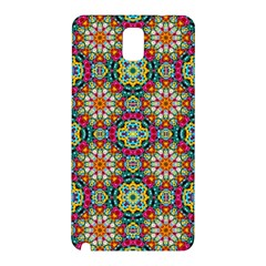 Jewel Tiles Kaleidoscope Samsung Galaxy Note 3 N9005 Hardshell Back Case by WolfepawFractals