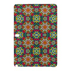 Jewel Tiles Kaleidoscope Samsung Galaxy Tab Pro 10 1 Hardshell Case by WolfepawFractals