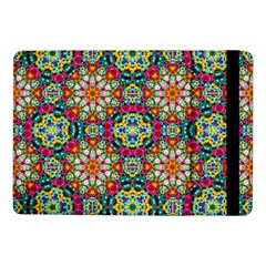 Jewel Tiles Kaleidoscope Samsung Galaxy Tab Pro 10 1  Flip Case by WolfepawFractals