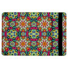 Jewel Tiles Kaleidoscope Ipad Air 2 Flip by WolfepawFractals