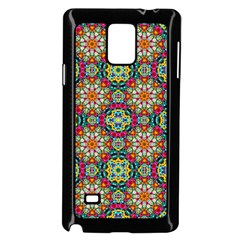 Jewel Tiles Kaleidoscope Samsung Galaxy Note 4 Case (black)
