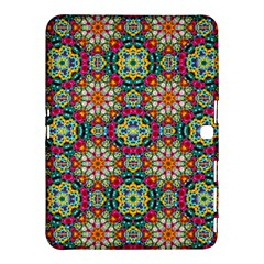 Jewel Tiles Kaleidoscope Samsung Galaxy Tab 4 (10 1 ) Hardshell Case  by WolfepawFractals