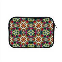 Jewel Tiles Kaleidoscope Apple Macbook Pro 15  Zipper Case by WolfepawFractals