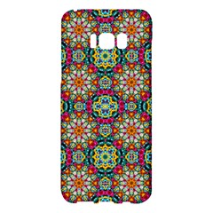 Jewel Tiles Kaleidoscope Samsung Galaxy S8 Plus Hardshell Case  by WolfepawFractals