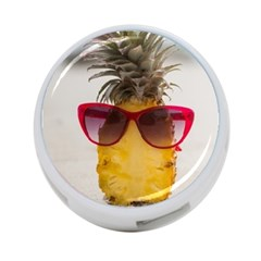 Pineapple With Sunglasses 4 Port Usb Hub (two Sides)