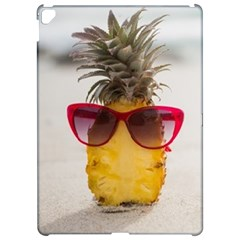 Pineapple With Sunglasses Apple iPad Pro 12.9   Hardshell Case by VandDdesigns