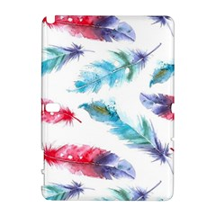 Watercolor Feather Background Galaxy Note 1 by LimeGreenFlamingo