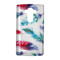 Watercolor Feather Background Lg G4 Hardshell Case by LimeGreenFlamingo