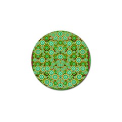 Flowers In Mind In Happy Soft Summer Time Golf Ball Marker (10 Pack) by pepitasart