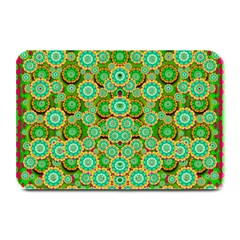 Flowers In Mind In Happy Soft Summer Time Plate Mats by pepitasart