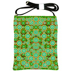 Flowers In Mind In Happy Soft Summer Time Shoulder Sling Bags by pepitasart