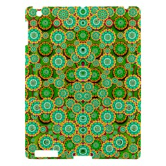 Flowers In Mind In Happy Soft Summer Time Apple Ipad 3/4 Hardshell Case by pepitasart