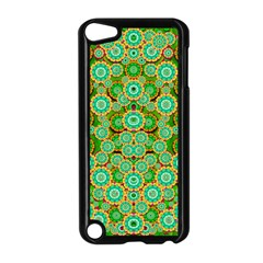 Flowers In Mind In Happy Soft Summer Time Apple Ipod Touch 5 Case (black) by pepitasart