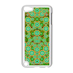 Flowers In Mind In Happy Soft Summer Time Apple Ipod Touch 5 Case (white) by pepitasart