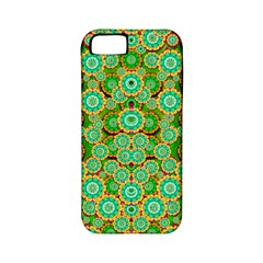 Flowers In Mind In Happy Soft Summer Time Apple Iphone 5 Classic Hardshell Case (pc+silicone) by pepitasart