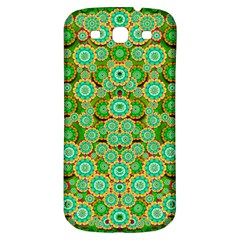 Flowers In Mind In Happy Soft Summer Time Samsung Galaxy S3 S Iii Classic Hardshell Back Case by pepitasart